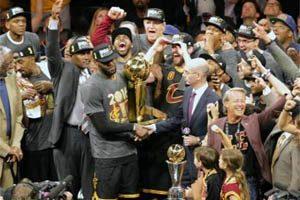 Basket : les Cleveland Cavaliers remportent leur premier titre de NBA en Juin 2016
