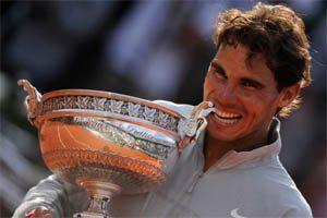 Rafael Nadal, spécialiste de la terre battue : Nonuple vainqueur à Roland Garros