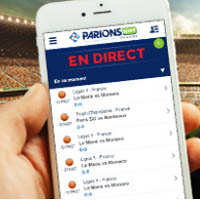 L'application de paris sportifs : ParionsSport pour iPhone de la FDJ
