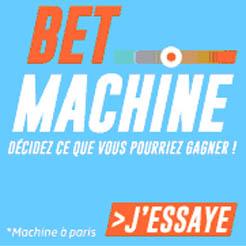 Se faire aider dans nos paris par la Bet Machine du PMU